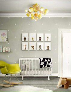 Die 56 Besten Bilder Von Babyzimmer Wandgestaltung