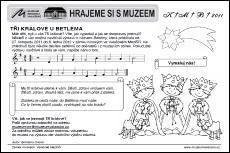 Tři králové u Betléma Vyšlo autor: Mgr. Advent, Author