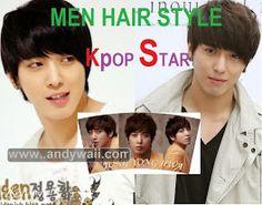 Photo Kpop Hair, Star Hair, Hairstyle, Album, Stars, Movie Posters, Men, Hair Job, Hair Style
