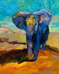 Resultado de imagem para pinturas abstractas de animales