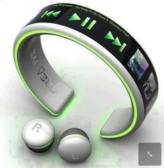 MP3 players for sports Baladeur MP3 no more wires… - One of the best MP3 players in the market. It is submersible up to two meters, is available in five colors.