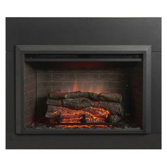 """32"""" Electric Fireplace Insert Zero Clear Qty of 1"""