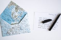 schereleimpapier DIY und Upcycling Blog aus Berlin - kreative Tutorials für Geschenke, Möbel und Deko zum Basteln – Briefumschlag falten