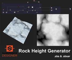 Free Rock Generator for Substance Designer