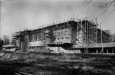 Raadhuis Hilversum in aanbouw
