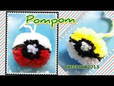 best healthy snacks for kids on the good night Pom Pom Crafts, Yarn Crafts, Diy And Crafts Sewing, Crafts To Sell, Diy Crafts, Pokemon, Craft Wedding, Crafts For Teens, Craft Tutorials