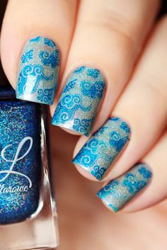 de briz: Colors by Llarowe Stamping Polishes and UberChic Beauty. Beautiful…