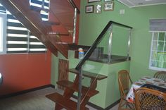Glass Stair Railing at Tanza, Cavite Philippines by Cavitetrail