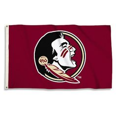 Florida State Seminoles Red Team Spirit Flag