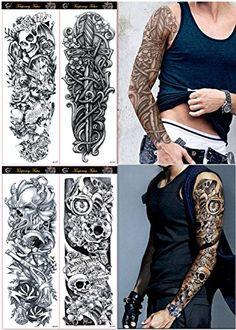 DaLin 4 Sheets Extra Large Temporary Tattoos, Full Arm (S... https://www.amazon.com/dp/B01HK0BORU/ref=cm_sw_r_pi_dp_x_UAmazbDRX96QR