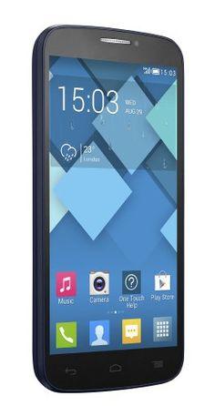 Alcatel POP C7 7041D – Smartphone libre Android (pantalla 5″, cámara 5 Mp, 4 GB, Quad-Core 1.3 GHz, 512 MB RAM, dual SIM), negro (importado)