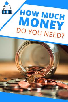 How much money do you need? Make Money Blogging, Way To Make Money, Make Money Online, Living Within Your Means, Investment Tips, Attract Money, Financial Peace, Frugal Living Tips, Do You Need