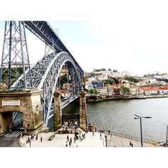 #porto #vacances #visite #pont #douro #gustaveeiffel by lisouz Gustave Eiffel, Douro Valley, Five Star Hotel, George Washington Bridge, In The Heart, Terrace, Old Things, River, Landscape