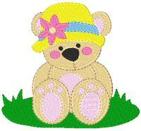 Embroidery | Free Machine Embroidery Designs | Bunnycup Embroidery | Lil Cheri