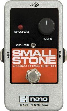 Electro Harmonix Nano Small Stone Phase Shifter Guitar Effects Pedal