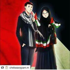 Sükut-U lisan selameti i̇nsan love palestine di 2019 Cute Muslim Couples, Muslim Girls, Couple Cartoon, Girl Cartoon, Couple Art, Best Couple, Deviantart Disney, Palestine Art, Muslim Family