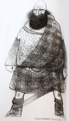 Carter Goodrich design for Brave