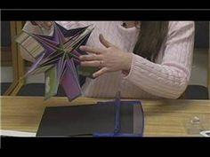 How to Make a Star Book : How to Make a Star Book: Cutting Card Stock - YouTube