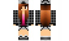 minecraft skin Tomboy-with-a-touch-of-Girliness Find it with our new Android Minecraft Skins App: https://play.google.com/store/apps/details?id=the.gecko.girlskins