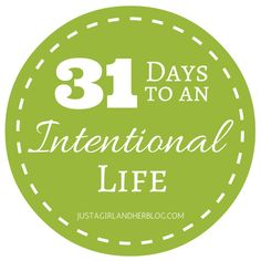 Do you want to lead a more intentional life? How does less chaos, more order, better habits and clearer priorities sound? Join me on the journey!