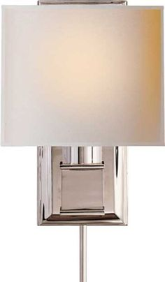 "Visual Comfort  Box Sconce - in aged brass - 11"" H x 7.5"" W x 7.25"" Extension, 11"" x 4.5"" backplate"