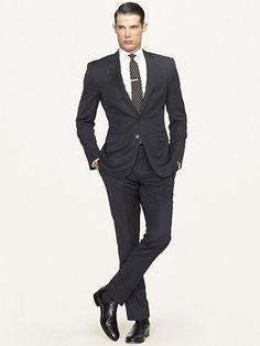 Anthony Solid Suit - Suits  Men - RalphLauren.com