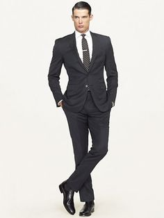 Anthony Solid Suit - Suits   Men - RalphLauren.com