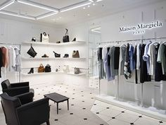 Maison Margiela Store, Fukuoka – Japan » Retail Design Blog