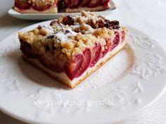 Pitemánia: Szilvás-morzsás lepény Banana Bread, Waffles, French Toast, Cheesecake, Sandwiches, Food And Drink, Breakfast, Kuchen, Morning Coffee