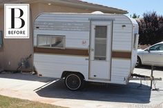 An Unbelievably Adorable Tiny Trailer Makeover — Why It Works