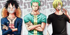 Luffy, Zoro, Sanji / One Piece