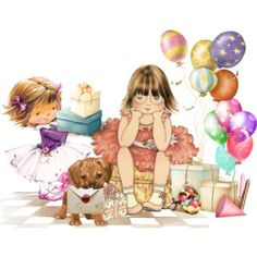 Of all the gifts, Birthday Greeting Cards, Birthday Greetings, All Gifts, Luxury Fashion, Anime, Fictional Characters, Polyvore, Women, Art