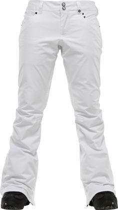 Burton TWC Candy Snowboard Pants Bright White