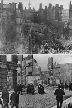 Dublin 1916 Ireland Pictures, Old Pictures, Old Photos, Vintage Photos, Ireland 1916, Dublin Ireland, Easter Rising, Republic Of Ireland, Modern History