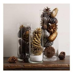 Pine Cone Easy Table Decoration | DIYIdeaCenter.com