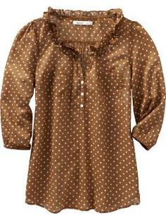 Are you seeing a color theme here? Purchased, waiting to wear till a little later this month when it's more Fall like. To tide me over, I purchased in white with black dots as well :)