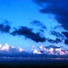 Night falls #sky #clouds #night #dark #lastlight #sunset #horizon #blue #groenehart #flat #plat #rural #colors #colours #palettes #nederland #netherlands #goodnight #amazing #beautiful #wonderful #highway #field #skies #bye #evening #avond