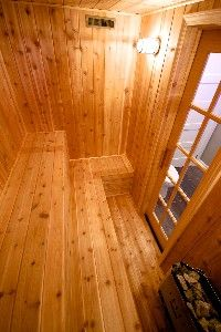 SPA Room - Private dry sauna Diy Projects To Build, Dry Sauna, Sauna Design, Diy Gifts For Mom, Massage Room, Saunas, Workout Rooms, Log Homes, Basement Ideas
