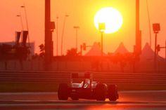 Sunset Abu Dhabi Gran Prix 2011