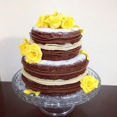 naked cake de flores - Pesquisa Google