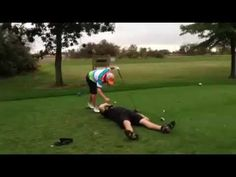 Golf Shot - Huge Drive From Tee In Mouth! Zac hits a 350 yard drive straight down the fairway from a tee held in his buddy's mouth. Tee One Up Golf Chris Wright, It Field, Golf Drivers, Play Golf, Hold On, Golf Courses, Shots, Yard, Tees