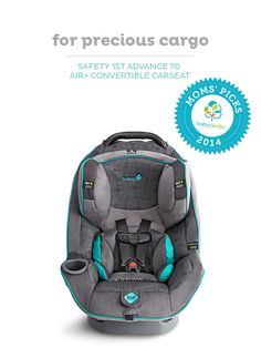 Safety 1st Advance 70 Air+ Convertible Car Seat, a BabyCenter Top Pick.