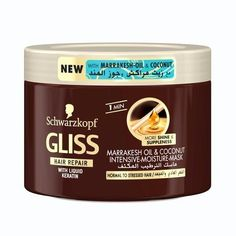 Gliss By Schwarzkopf Marrakesh Oil-with Liquid Keratin Intensive Moisture Mask (Masque) For Dry Hair 200 Ml >>> Check out this great product.