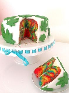 Weed Birthday Cake, 21st Birthday, Hippie Birthday, Different Kinds Of Cakes, Junk Food Snacks, Dessert Decoration, Homemade Cakes, Pretty Cakes, Themed Cakes