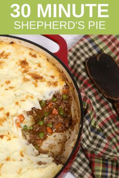 Quick Easy Shepherds Pie There is nothing more warm and comforting then Shepard's Pie. This Irish Pub staple is so satisfying and easy to make that your family will be begging for seconds! This is truly one of the best ground beef recipes I make. Sheppards Pie Recipe Easy, Shepards Pie Easy, Best Shepherds Pie Recipe, Recipe For Shepard Pie, Shepards Pie Recipes, Healthy Shepards Pie, Easy Pie Recipes, Irish Recipes, Meat Recipes
