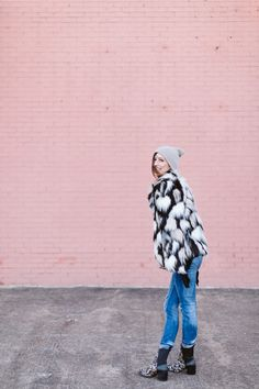 Spot On Style: Fall Winter Faux Fur Look | The Fashion Barr