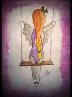 Vampire trapezist by Latruffe