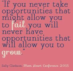 #sallyclarkson #ownyourlifebook Sally Clarkson, You Never, Conference, Fails, Life, Inspirational, Make Mistakes