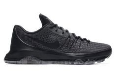 322204a47cc8 An all black colorway for a lethal NBA scorer. Kd 8 Shoes
