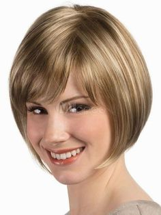 Fashion Wig  Short Wig Women'S  Mixed Blonde Full Wig